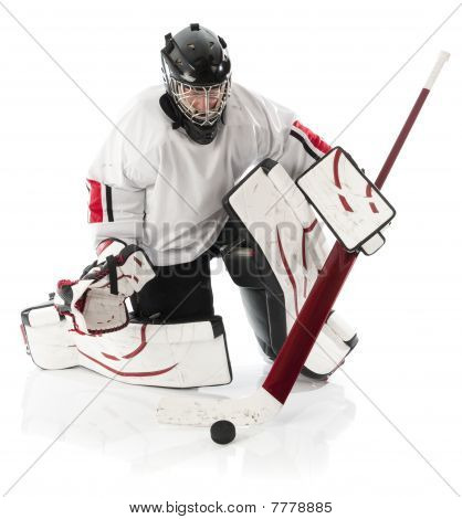 Eishockey-Torwart