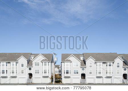 Residential street.