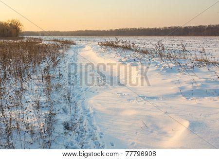 outdoor photo of winter landscape beauty