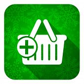 picture of cart  - cart flat icon - JPG