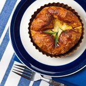 picture of artichoke hearts  - Spinach Artichoke Baked Egg Souffle - JPG