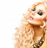 pic of blonde  - Glamour Blonde lady - JPG