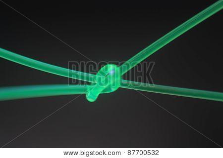 Fluorescent Knot