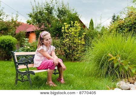 Big Problems - Child In Garden