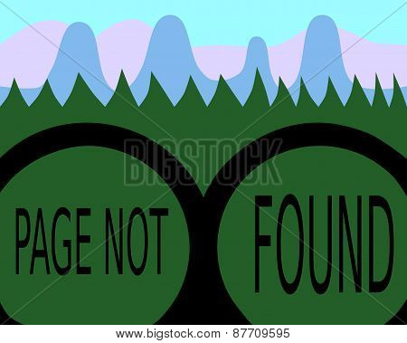 Page not found - binoculars