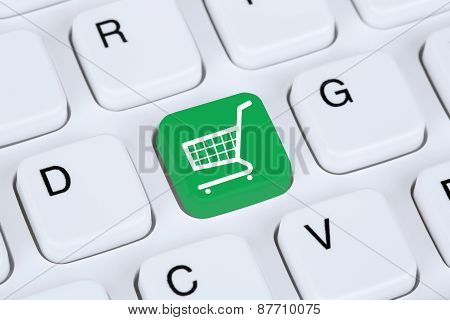 Online Shopping E-commerce Internet Shop Concept