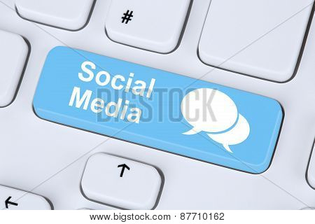 Social Media Or Network Internet Networking Online Friendship