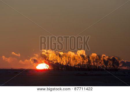 Sunset Pollution