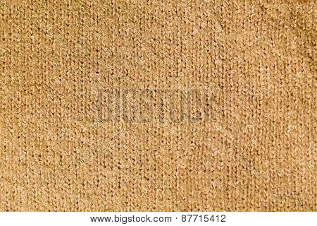 Part Of The Surface Of Warm Sweaters. Macro