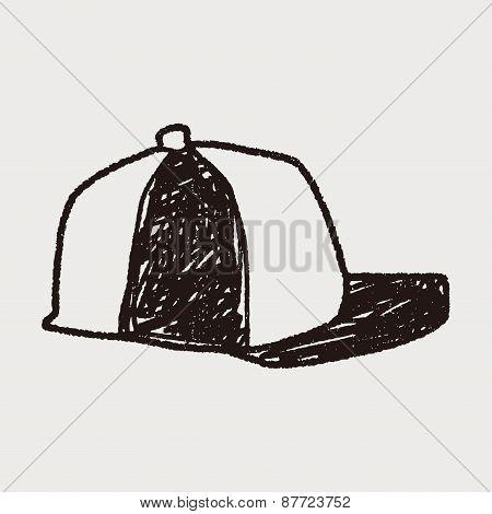 Baseball Cap Doodle