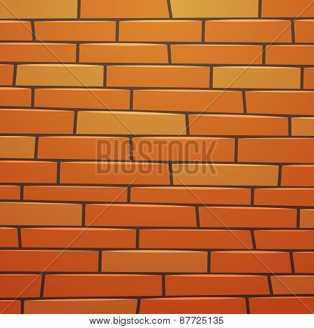 Cartoon Brick Wall