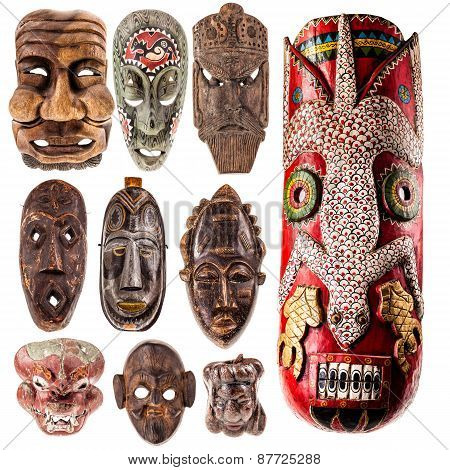 Tribal Mask Collection
