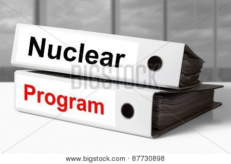 White Office Binders Nuclear Program