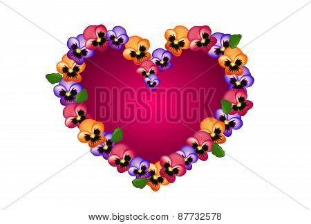Heartsease Heart