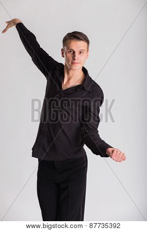 Man Dancer ballroom dancing