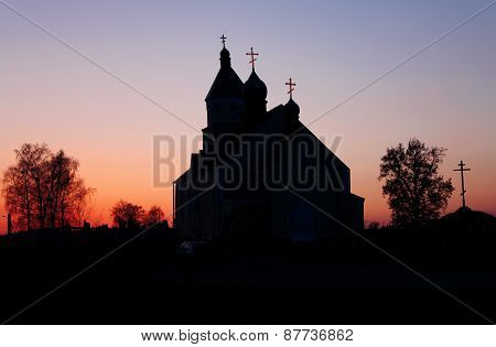 The Church in the evening.