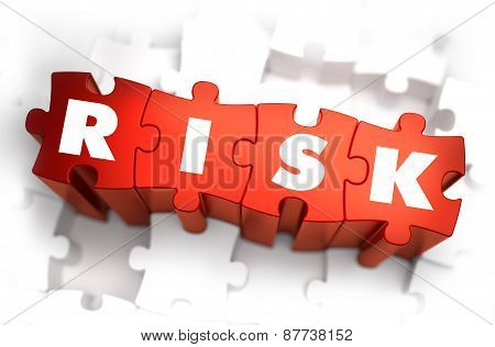 Risk - White Word on Red Puzzles.