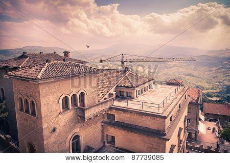 San-Marino Cityscape
