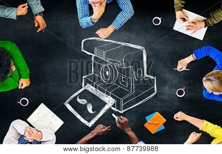 Camera Photography Photograph Design Art Concept