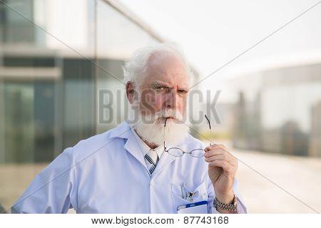 Aged head physician