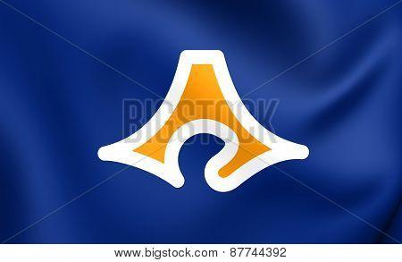 Flag Of Shizuoka Prefecture, Japan.