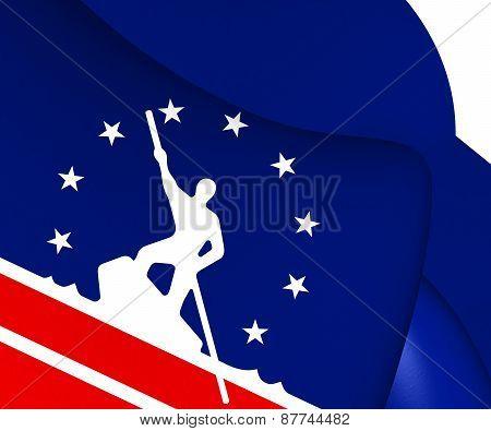 Flag Of Richmond, Usa.