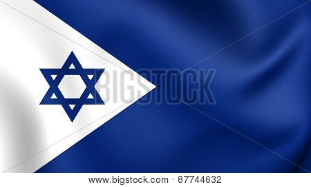 Naval Ensign Of Israel