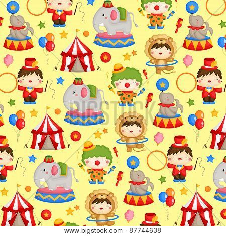 Circus carnival background