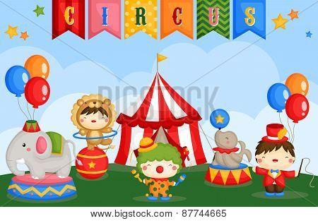 Carnival circus day