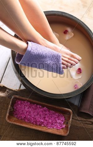 Washing of feet