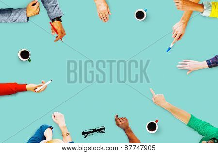 Meeting Communication Planning Business People Concept