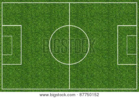 Soccer Field Green Grass