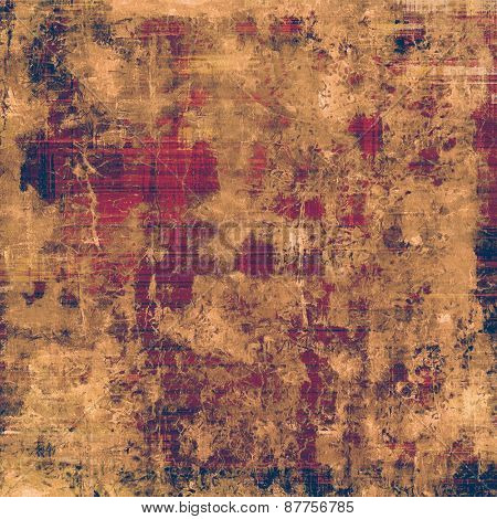 Grunge old texture as abstract background. With different color patterns: brown; yellow (beige); purple (violet)