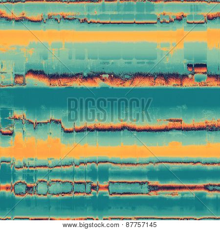 Antique vintage background. With different color patterns: yellow (beige); blue; cyan