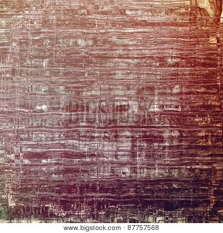 Antique vintage textured background. With different color patterns: brown; gray; purple (violet)