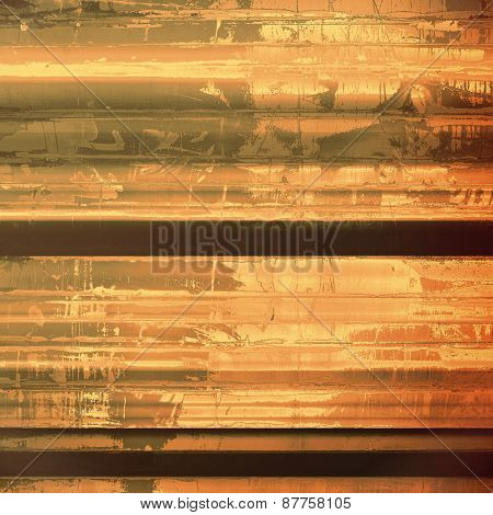 Art grunge vintage textured background. With different color patterns: brown; gray; yellow (beige); black
