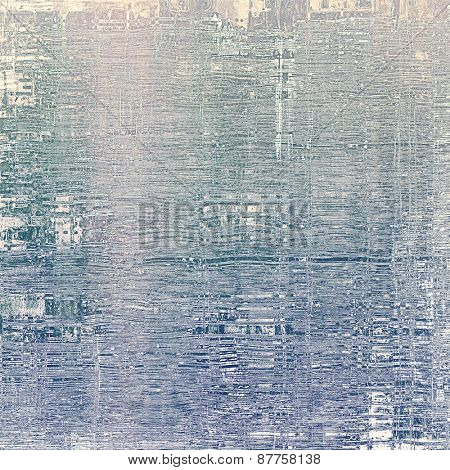 Old abstract grunge background for creative designed textures. With different color patterns: gray; purple (violet); blue