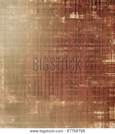Grunge texture, distressed background. With different color patterns: brown; gray; yellow (beige)