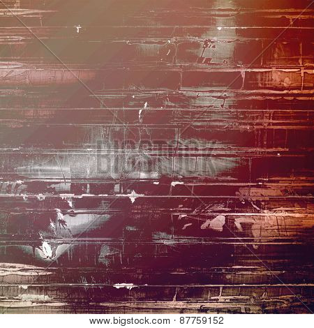 Old grunge template. With different color patterns: brown; gray; purple (violet); pink