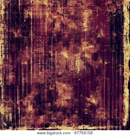 Grunge texture, may be used as retro-style background. With different color patterns: brown; yellow (beige); purple (violet); pink