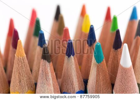 Assortment Of Colored Pencils