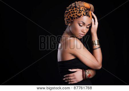 True African Beauty.