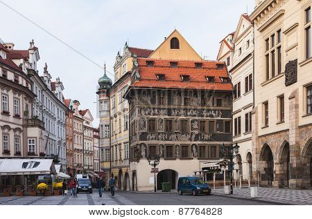 Streets of Prague, Czech