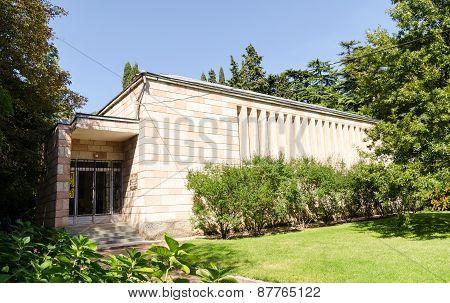 Museum Of The Nikitsky Botanical Gardens. Crimea, Yalta.