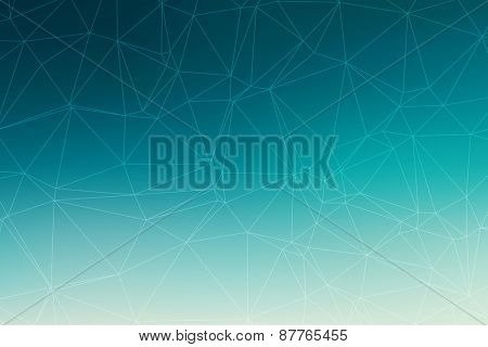 Abstract triangle polygonal vector geometric background