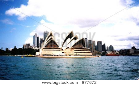 Dramatic View Sydney Opera House