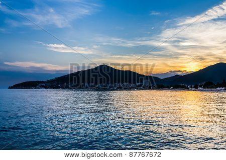 Sunset View On Budva
