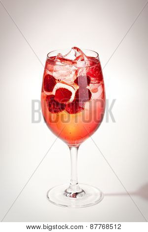 Cocktail - Raspberry with Ice