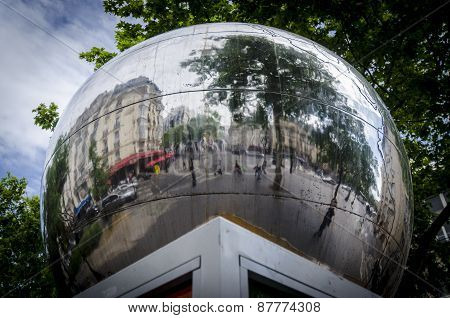 Mirror Ball In Paris