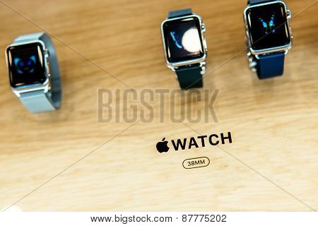 Apple Watch Close-up Details